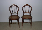 Restored Side chairs.